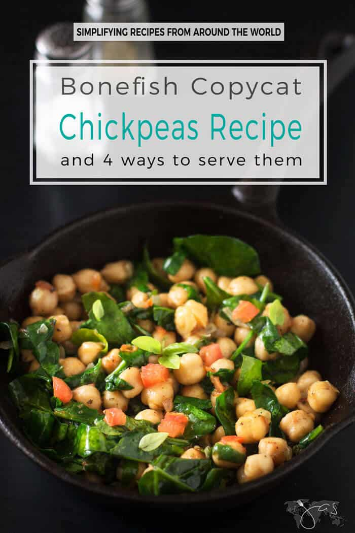 This delicious gluten-free recipe for copycat Bonefish chickpeas is great for brunch as it is for dinner.