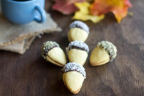 Acorn Cookies - All that's Jas
