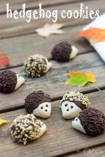 hedgehog cookies - All that's Jas