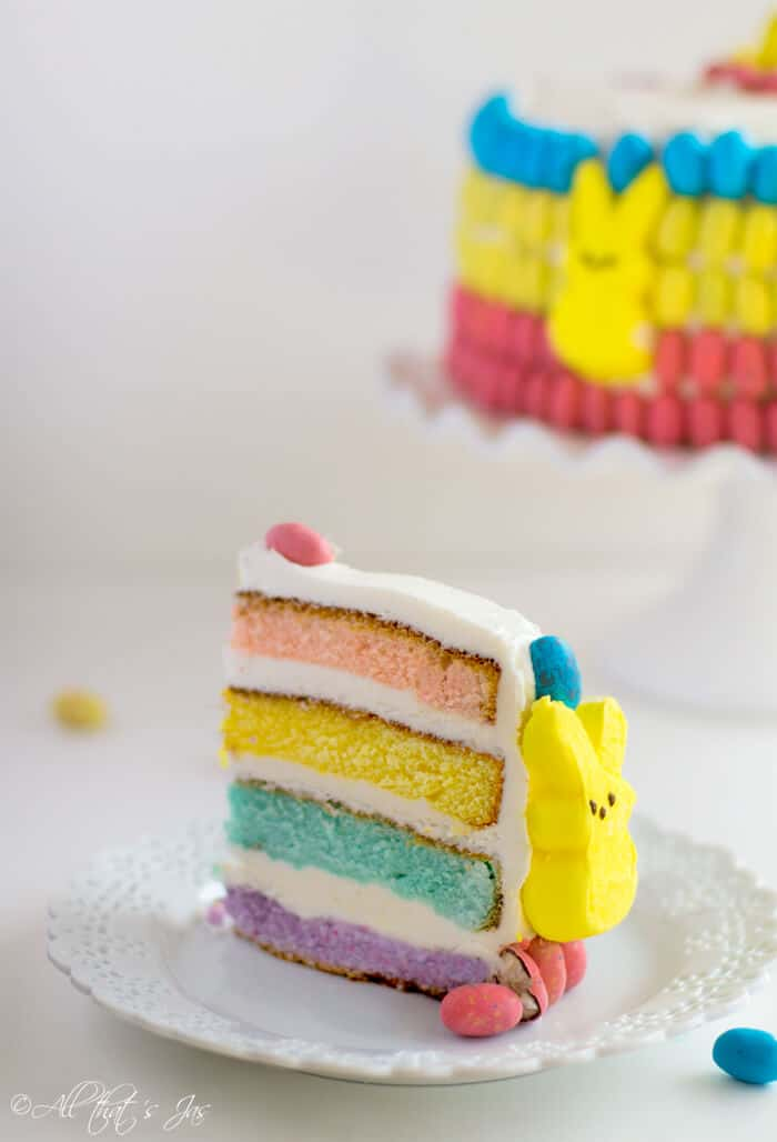 Easter layered cake - All that's Jas
