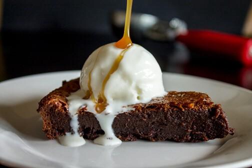 Nutella Baileys Brownie Cake