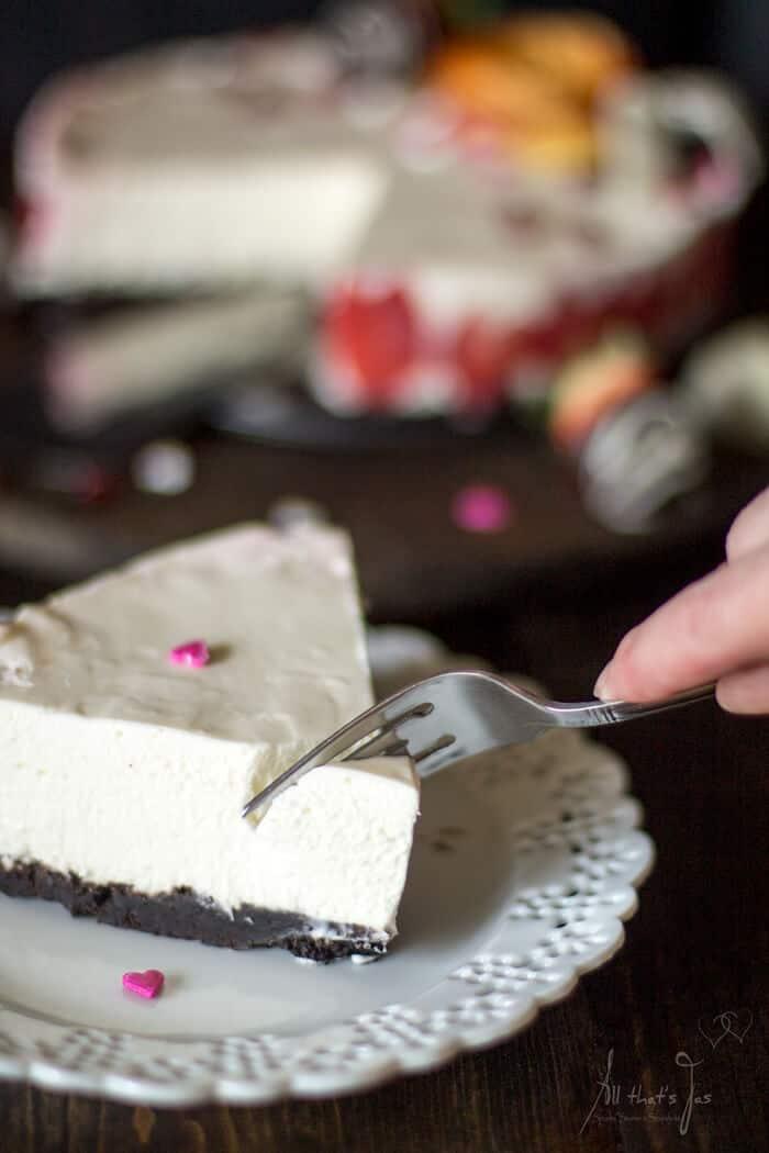 Amazing rare cheesecake