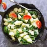 Swiss Chard and Potatoes - Croatian Blitva Recipe | All that's Jas