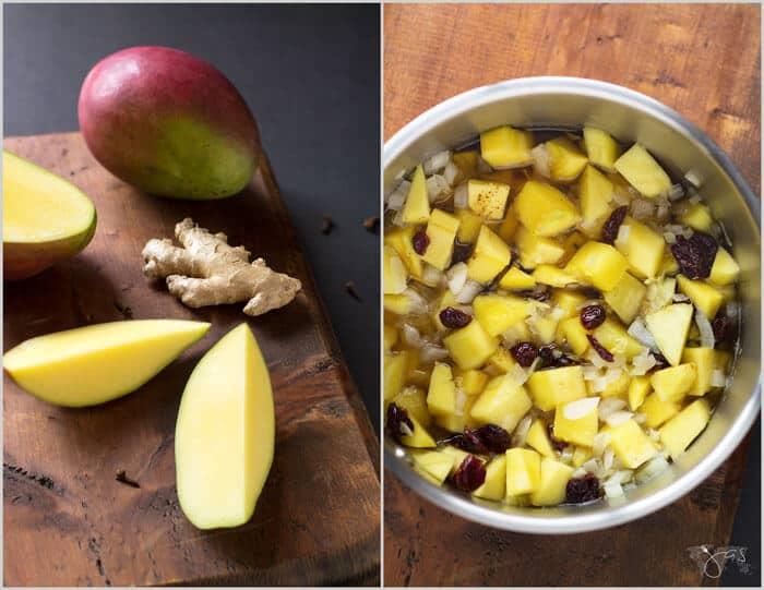 How to make homemade mango chutney