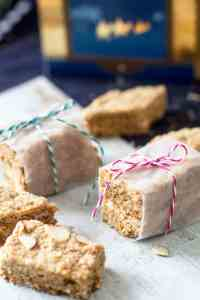 cookie bars from South Africa with oatmeal and coconut