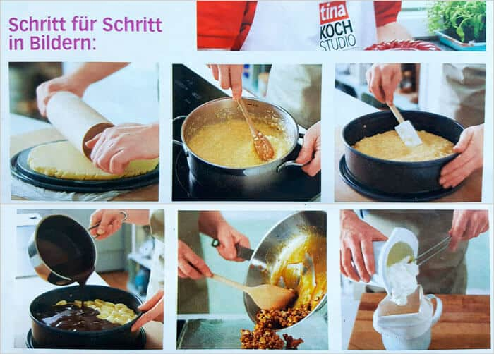step by step coconut banana cake from Tina magazine