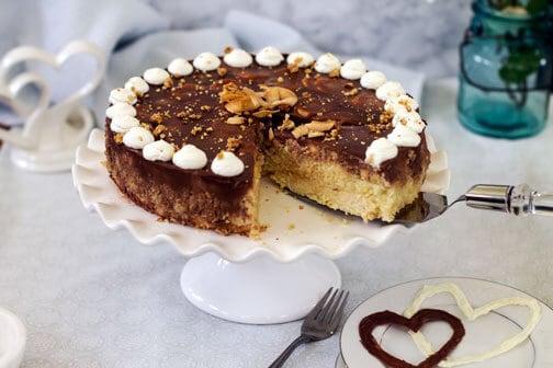 Boozy German Coconut Banana Cake | All that's Jas