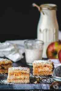 Croatian Easy Eggless Apple Cake | allthatsjas.com