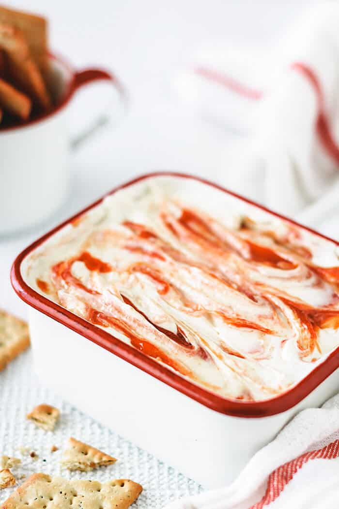 Recipe for guava dip that is sweet and savory.