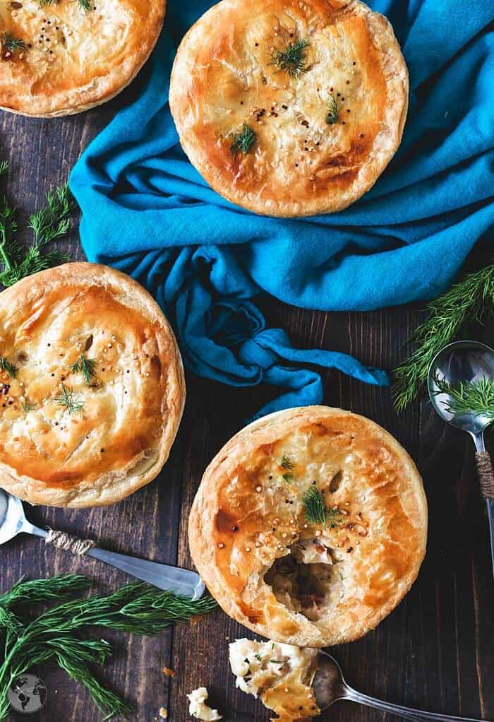 Recipe for Irish pie of macaroni, smoked cheese, and lobster