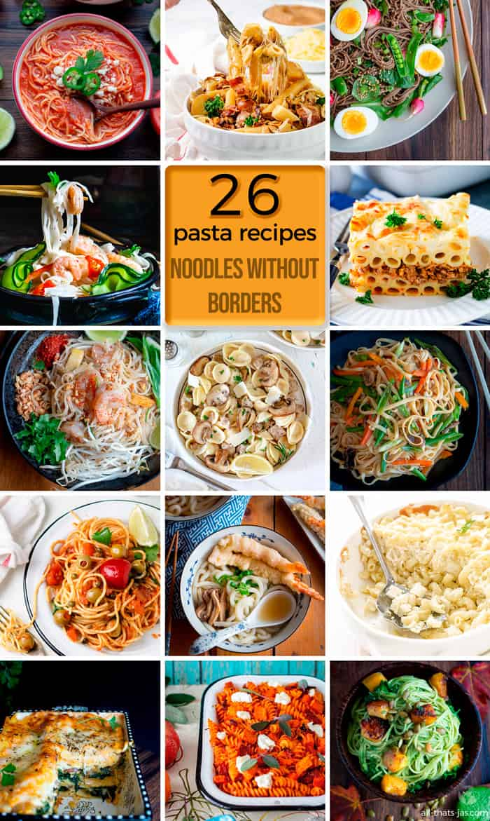 26 noodle without borders recipes.