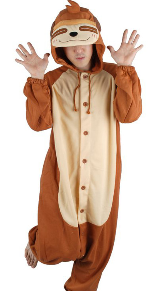 3 sloth costumes you