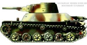 Японский легкий танк «ТИП-2» («КЕ-ТО»)