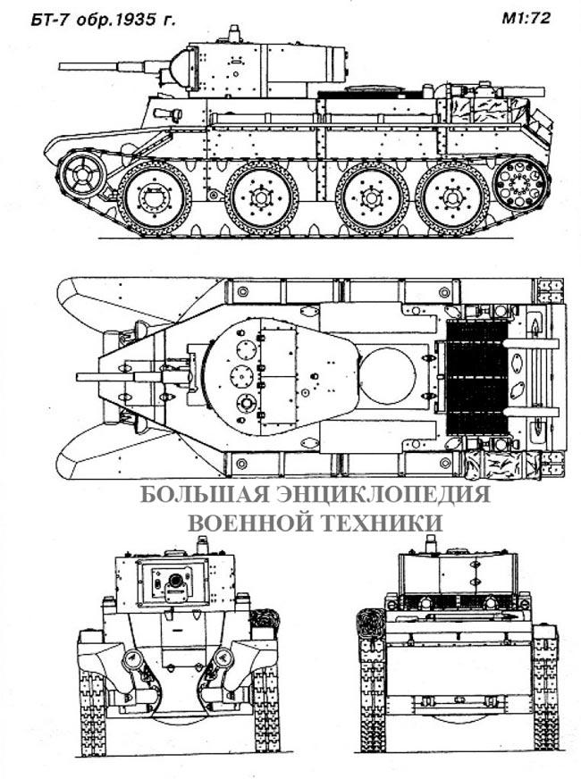 Танк БТ-7 обр. 1935 года