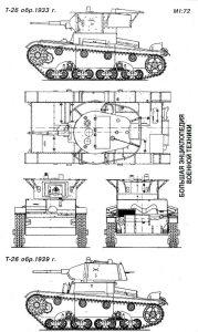 Танк Т-26 обр. 1933 г.