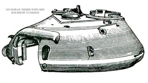 Башня танка Т-10