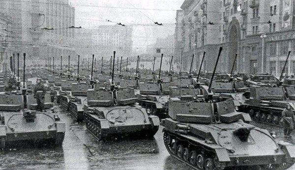 ЗСУ-37 - зенитная самоходная установка, СССР