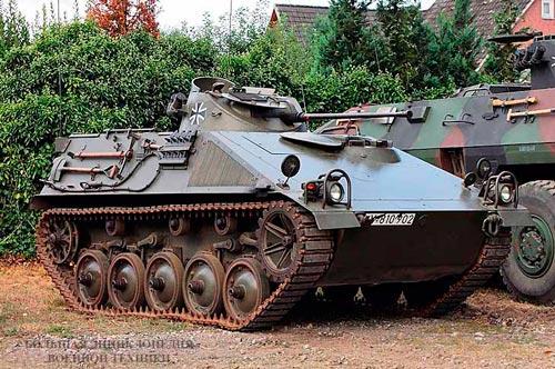 Боевая разведывательная машина Бундесвера SPz. 11-2 «Kurz»