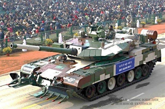 """Индийский танк """"Арджун"""""""
