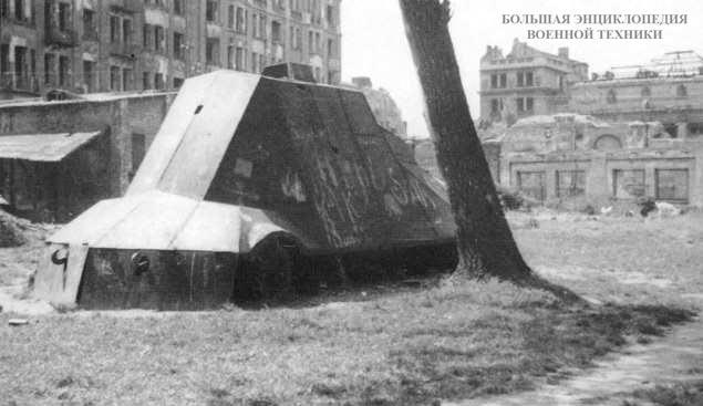 Польский импровизированный бронеавтомобиль Kubus, 1944 год. Вид сбоку