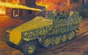 Самоходный огнемет Sd. Kfz 251/16
