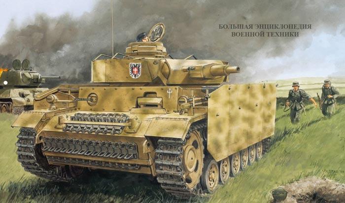 Средний немецкий танк Panzer III (Sd.Kfz.141)
