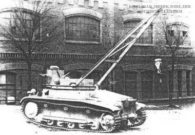 БРЭМ на базе танка Pz.II ранних выпусков