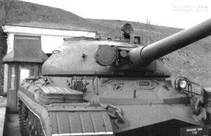 Башня танка Т-10М,