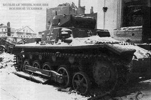 Брошенный немцами при отступлении Pz.l