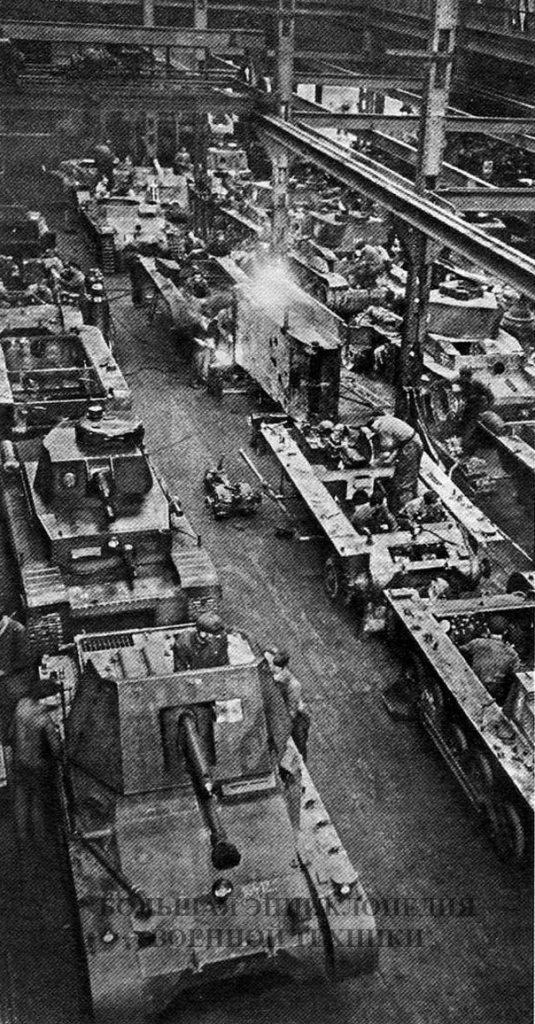 Капитальный ремонт танков и сборка самоходных орудий Panzerjager I
