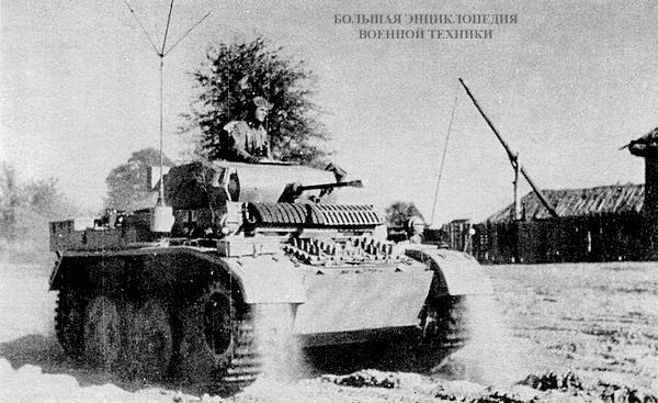 Легкий танк Pz.II Ausf.L