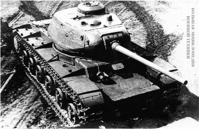 Общие-виды-первого-экземпляра-танка-КВ-85.-