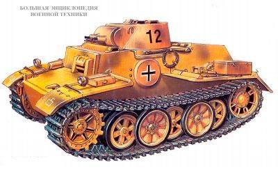 Танк Pz.Kpfw.l Ausf.F