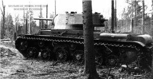 Танк КВ-1 (с литой башней)