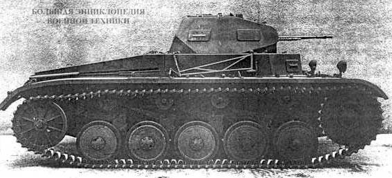 Танк Pz.II Ausf.A
