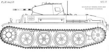 Танк Pz.II Ausf.D