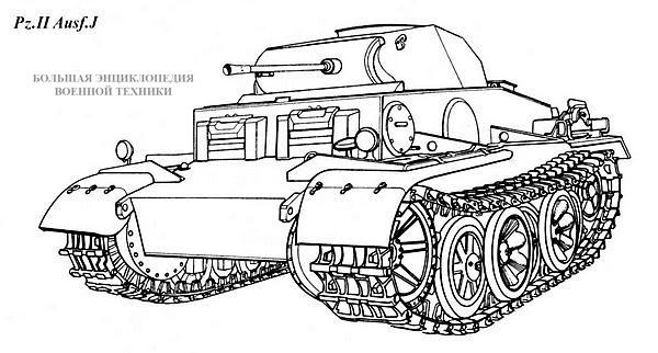 Танк Pz.II Ausf.J