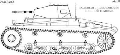 Танк Pz.II Ausf.b