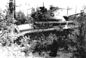 Т-10 в засаде.