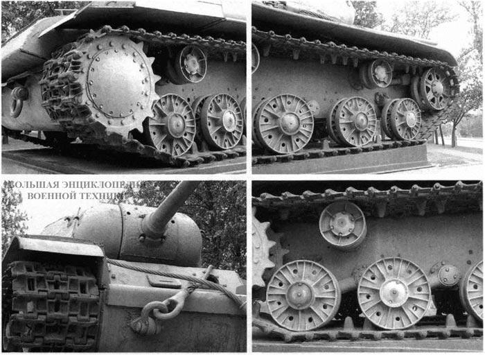 Фрагменты-корпуса-и-ходовой-части-первого-экземпляра-танка-КВ-85-установленного-в-качестве-памятника-в-Автово-Санкт-Петербург