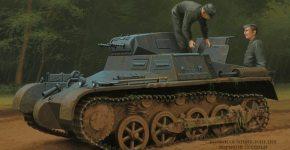 Танк Panzer I (Pz.Kpfw.l)