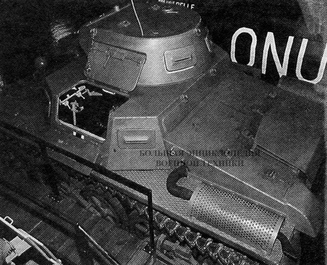 Pz. I Ausf.A в экспозиции танкового музея в Axval