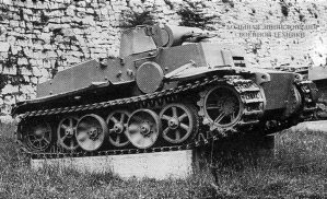 Pz.I Ausf.F в военном музее Белграда