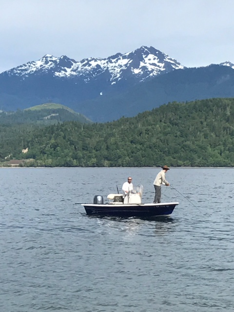 Fly Fishing Hood Canal