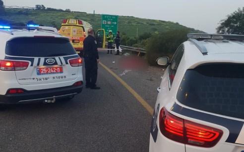 הרוג, פצוע קשה וקל בתאונה עצמית בכביש 77 ביציאה מטבריה