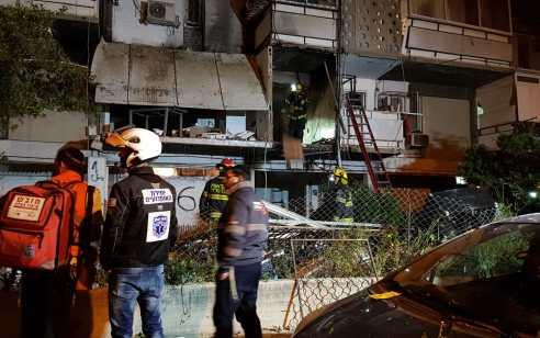 אישה כבת 50 נפצעה קשה כתוצאה מפיצוץ ושריפה באשקלון