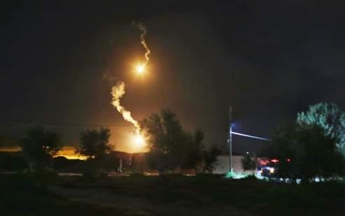 דיווחים בסוריה: מערכת ההגנה הסורית הופעלה בעקבות תקיפה