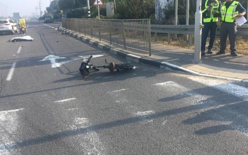 רוכב אופניים בן 36 נהרג בתאונה בצומת זכרון יעקב