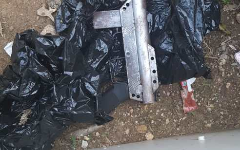 נשק מסוג קרלו נתפס מוסלק ברכב נטוש באום אל פחם