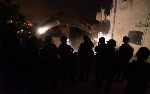 צפו: כוחותינו הרסו הלילה את בית המחבל שביצע את הפיגוע בעופרה